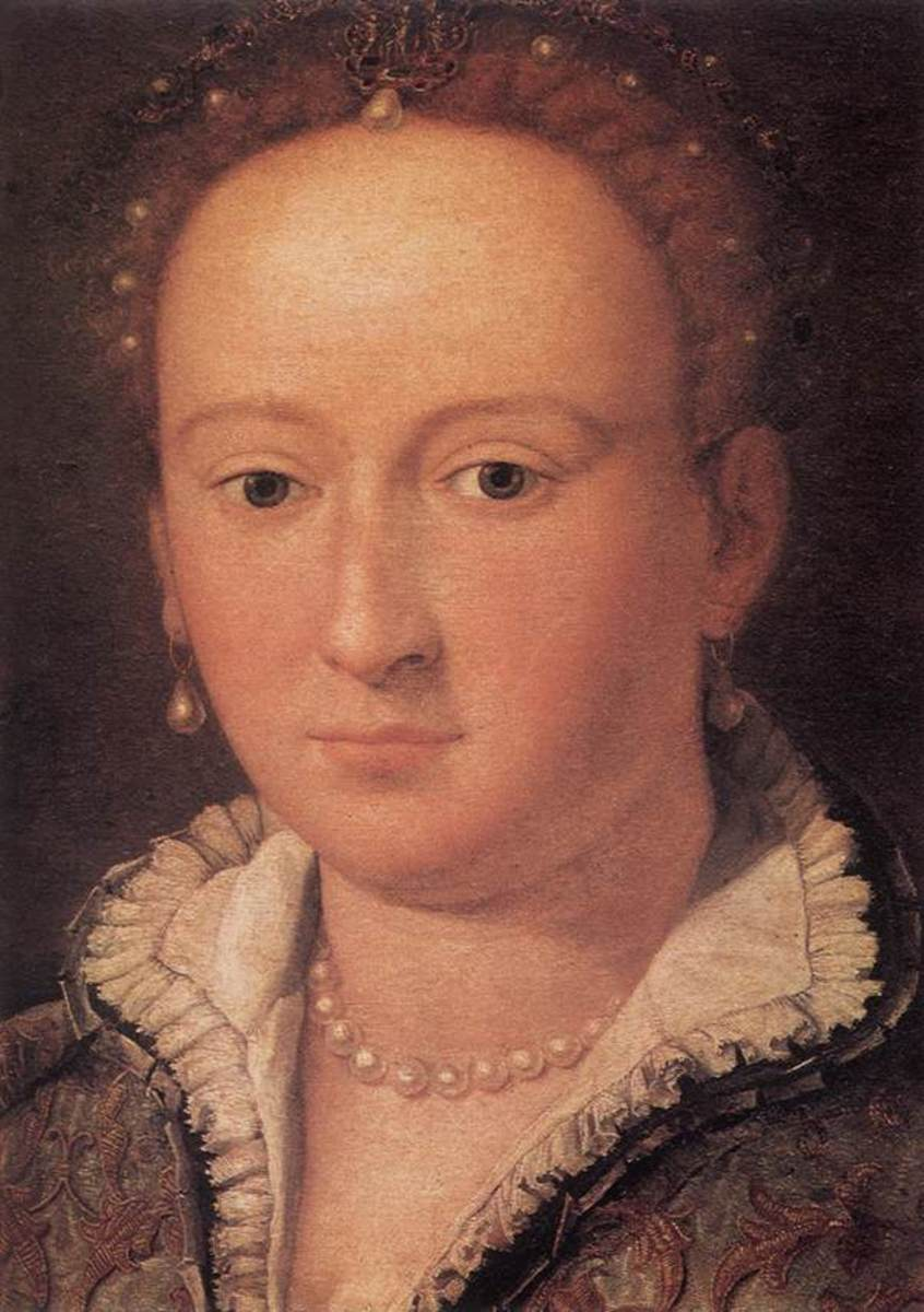 Bianca Cappello (1548-1587) was famed for her great beauty.