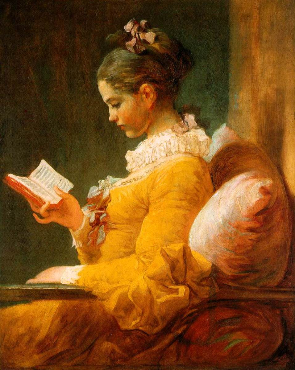 """The Reader,"" a Fragonard painting from 1776"