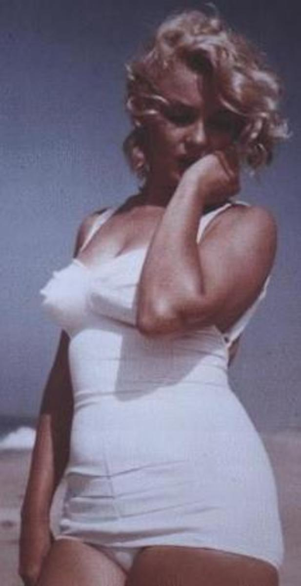 Marilyn Monroe, sometimes called the original sex icon