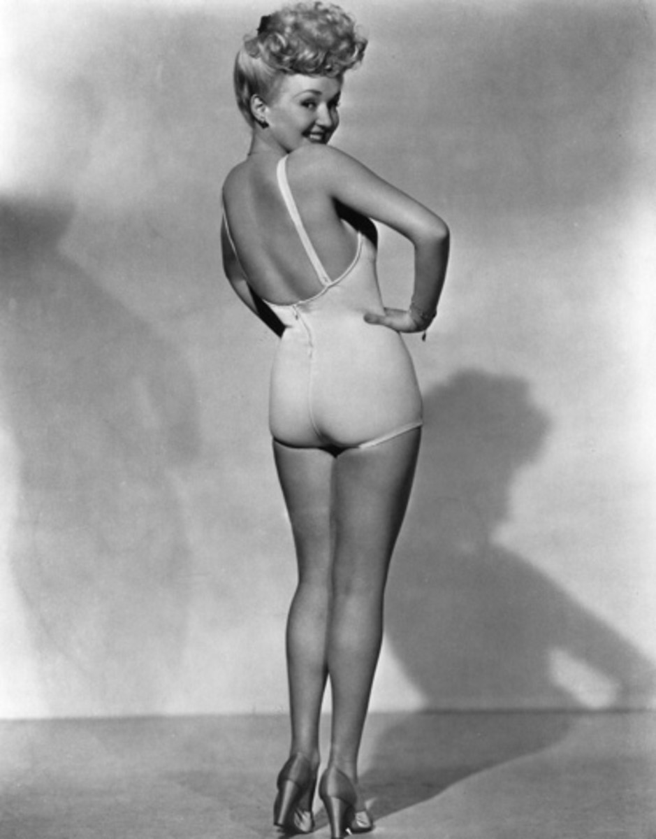 Betty Grable, the most popular pin-up girl of WWII