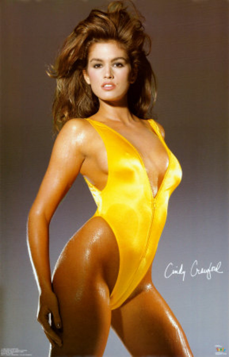 Cindy Crawford, one of the first supermodels.