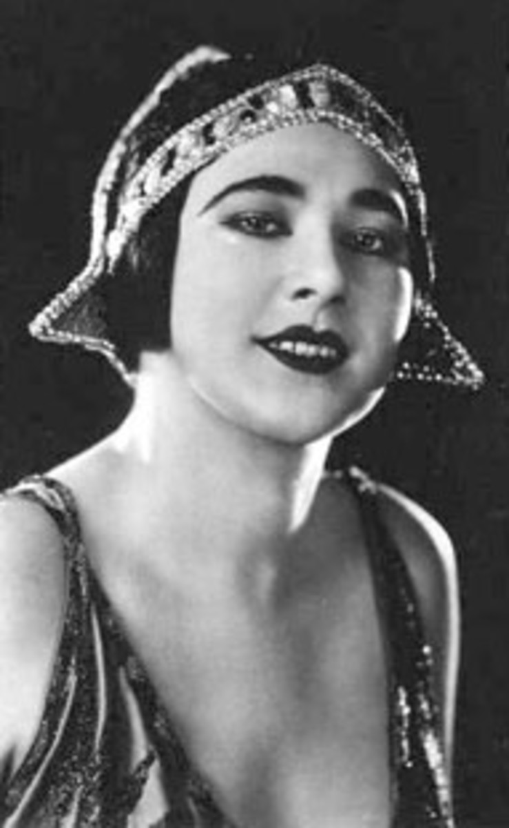 Nita Naldi, one of the most successful silent film stars of the 1920s