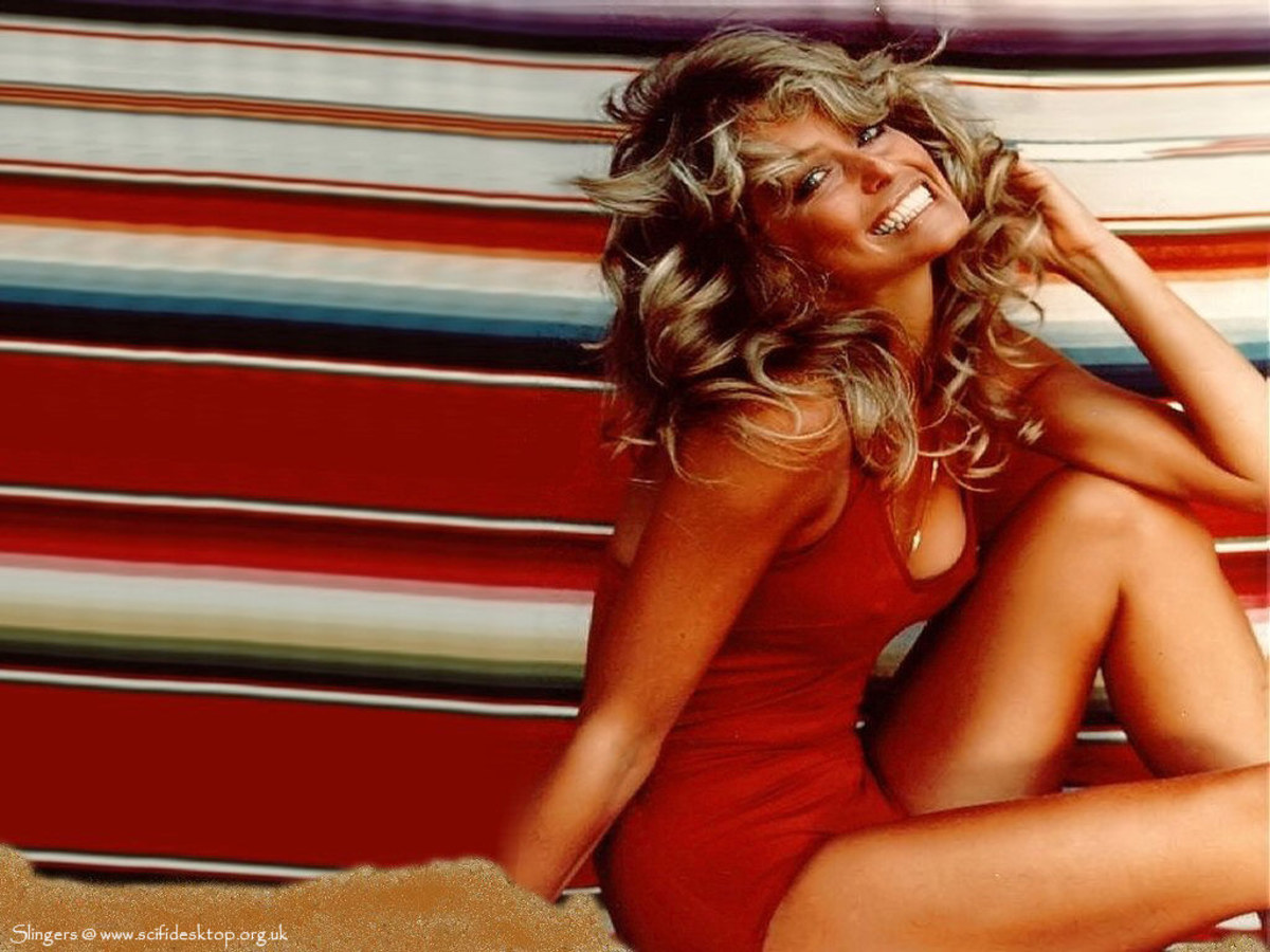 Farrah Fawcett marked a return to the fuller figure.