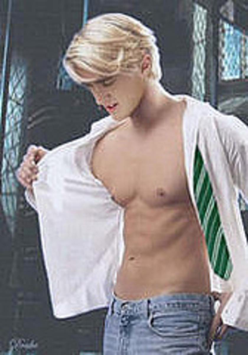 Tom Felton Shirtless? I'm not sure