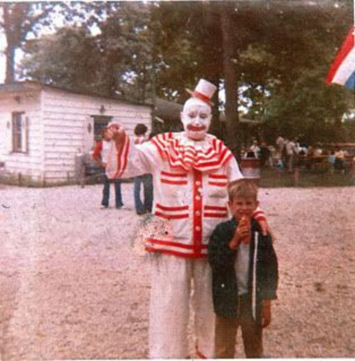John Wayne Gacy Dressed As Pogo The Clown