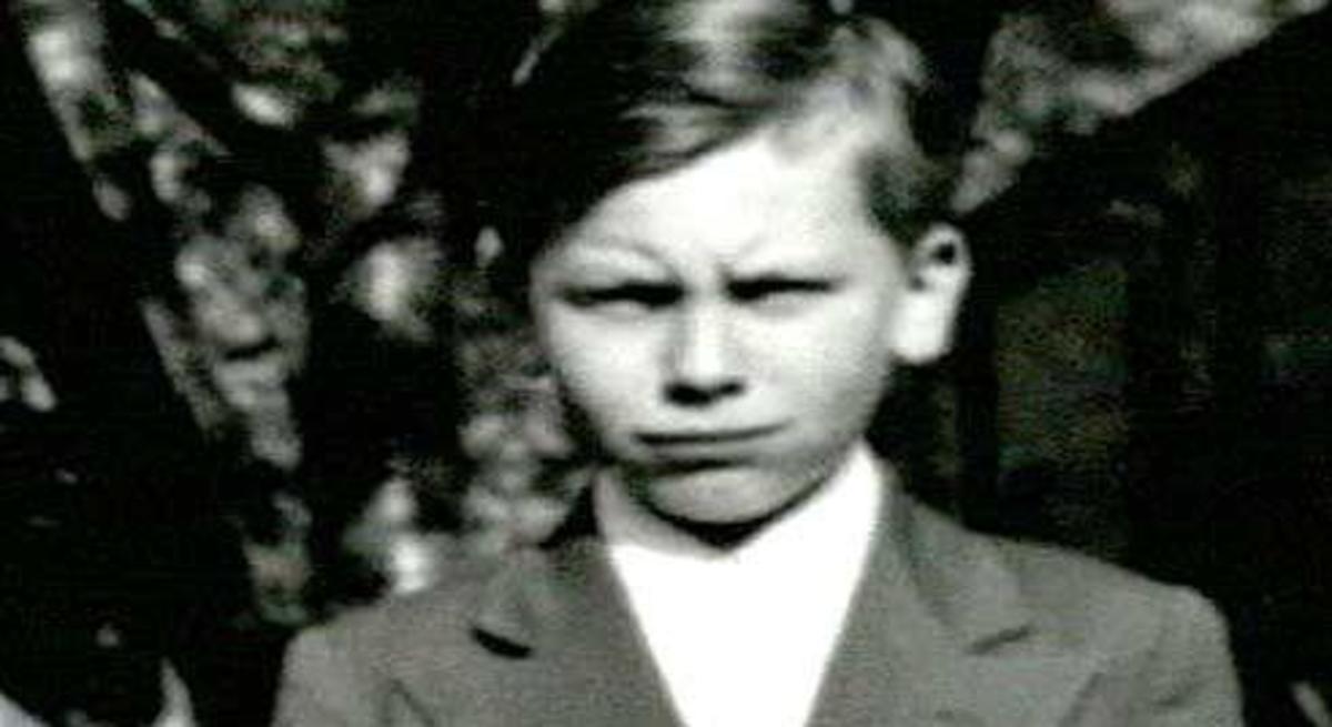 John Wayne Gacy As A Young Boy