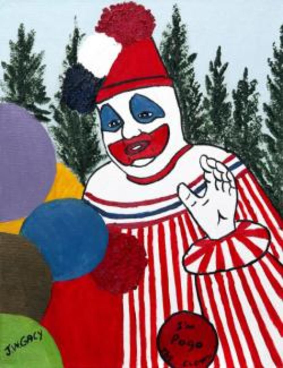 Art Work Of John Wayne Gacy