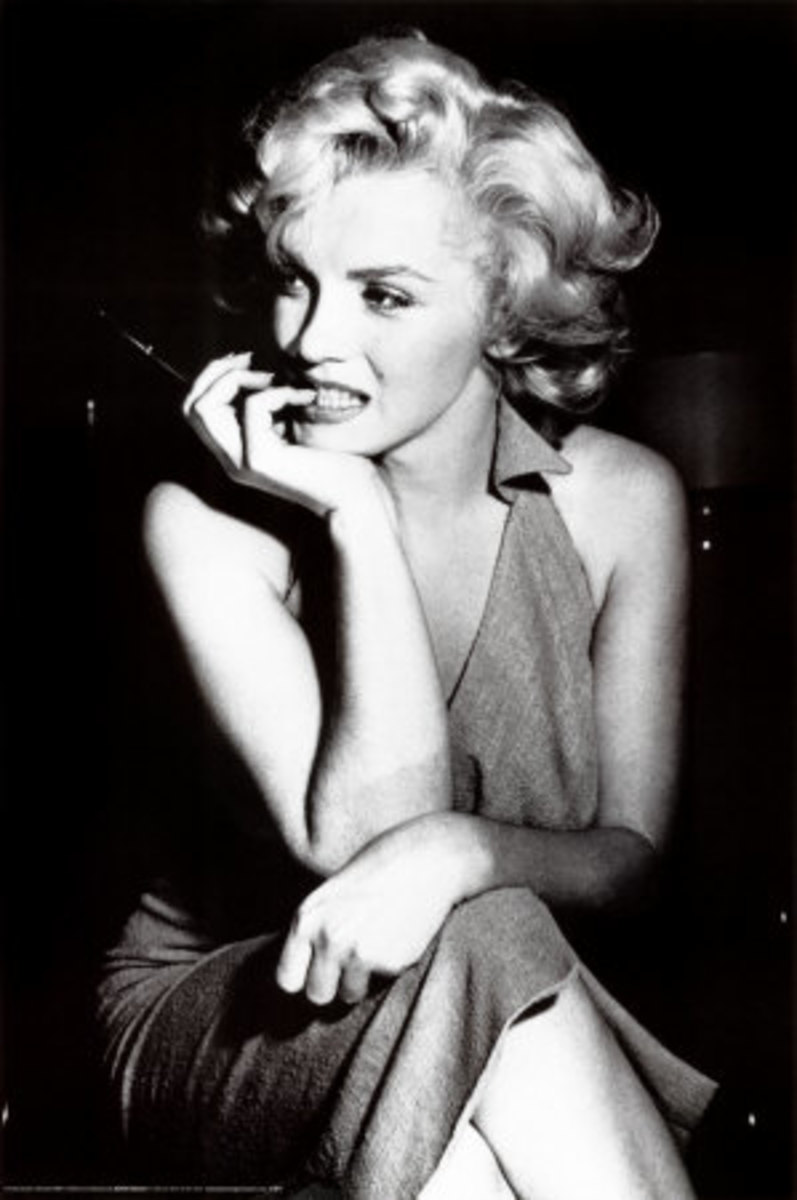 Marilyn Monroe Hollywood Sex Goddess