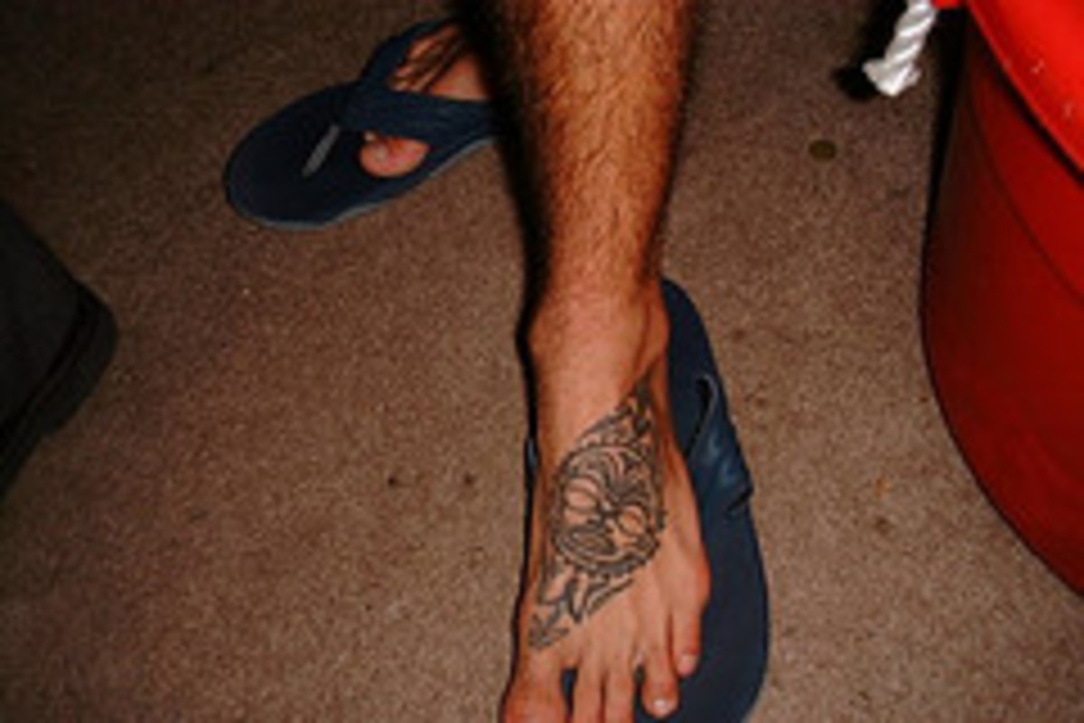 Here are some more great foot tattoo pictures and ideas.  All images are from Flickr.com.