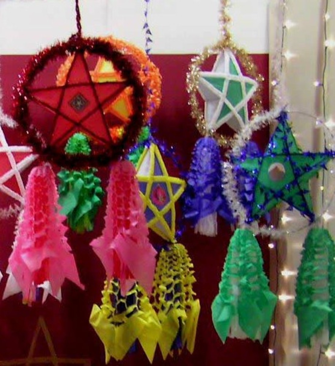 parol is a traditional filipino christmas decoration a five point star shaped christmas lantern - Filipino Christmas Star