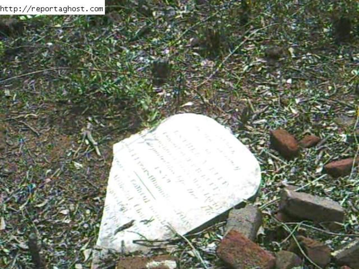 Broken Tombstones and Restless Ghosts