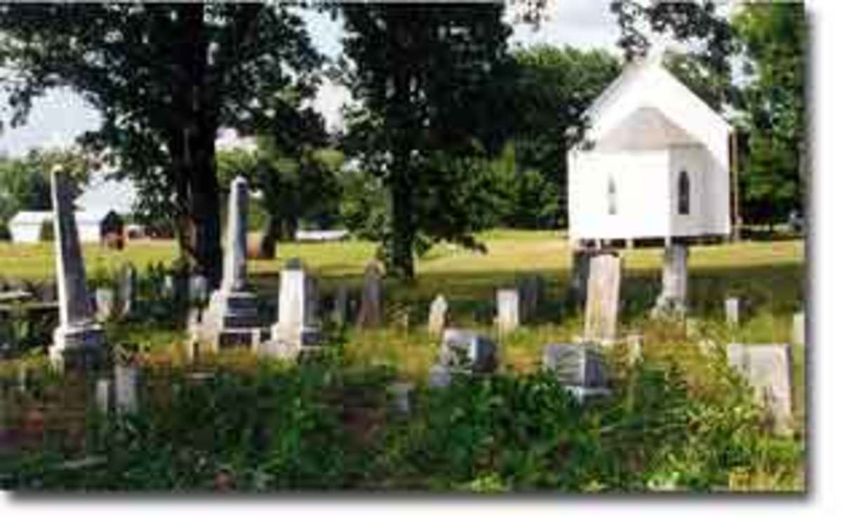 The Quaker Grave Yard Newberry S.C.