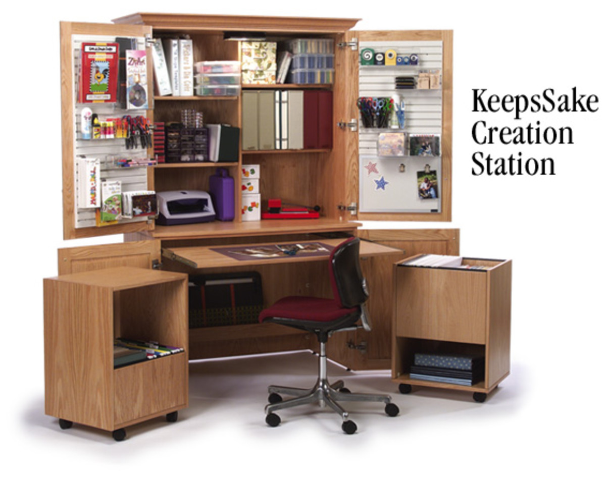 Charmant But A Number Of Companies Are Now Manufacturing Desks And Storage Systems  Designed With The Crafter Mind. These Functional, Durable Items Are Perfect  For ...