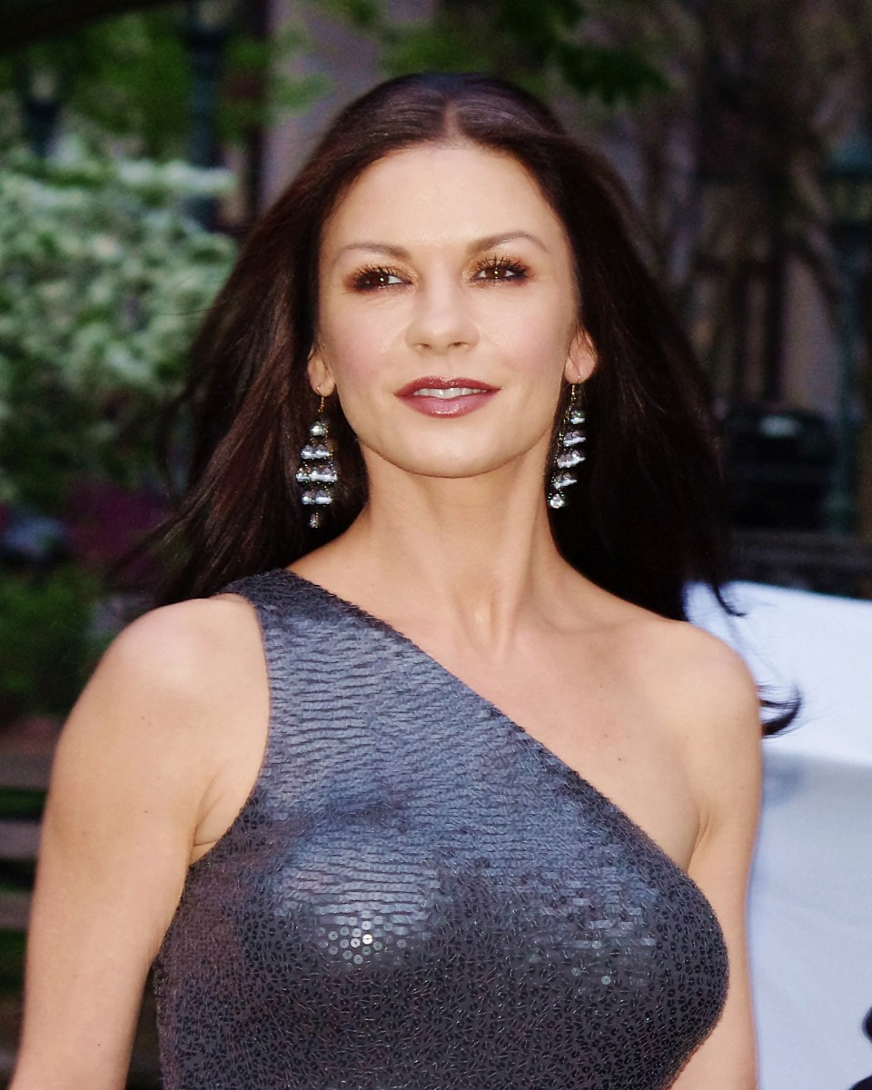 Catherine Zeta-Jones at the Vanity Fair party for the 2012 Tribeca Film Festival.