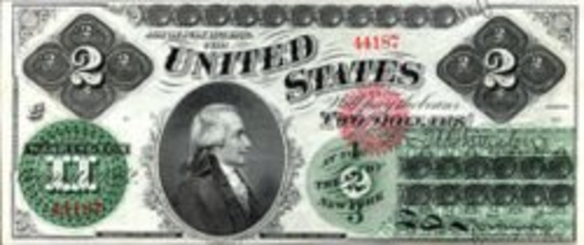 Interesting facts about the two dollar bill.