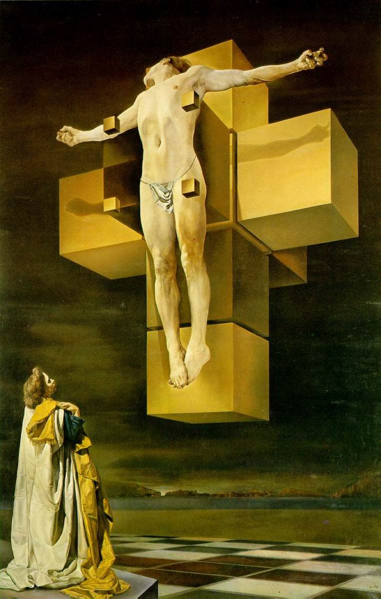 Salvador Dali's Crucifixion - Analysis