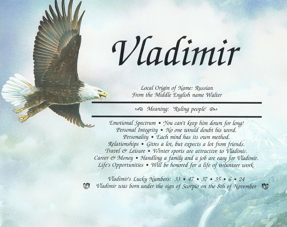 Vladimir - Meaning - Ruling People