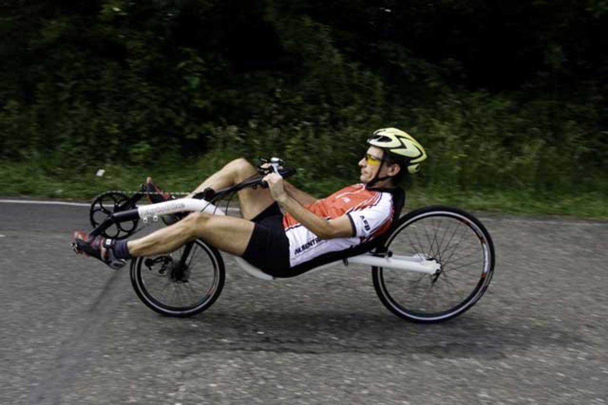 How to Ride a Recumbent Bicycle How to Ride a Recumbent Bicycle new picture