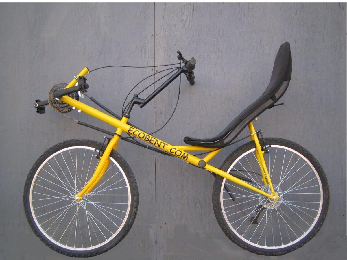 Ecobent Basic - The cheapest Short Wheel Based RECUMBENT BIKE.