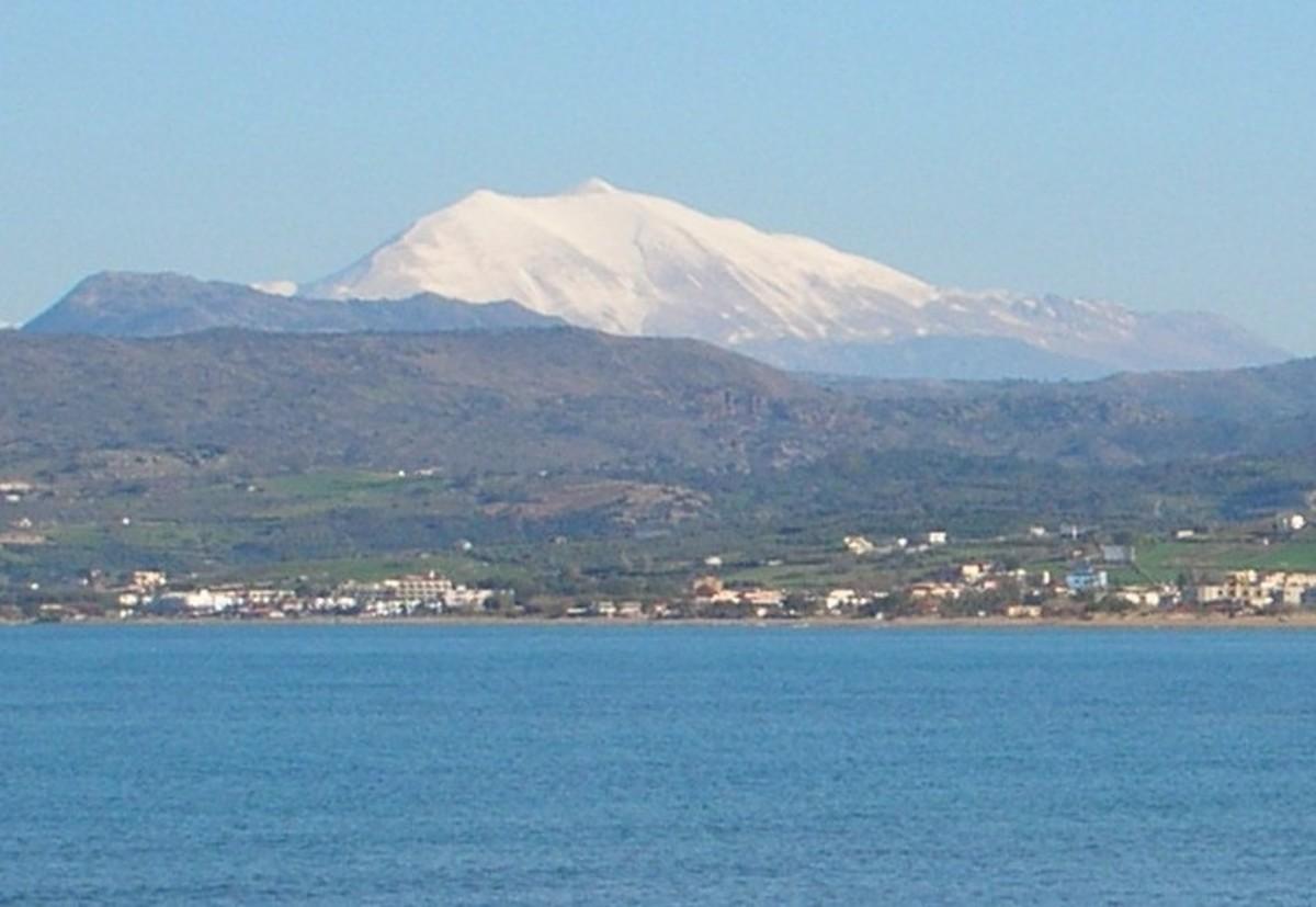 Crete - beaches and mountains.