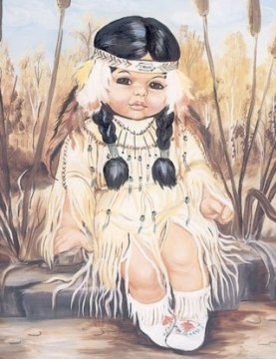 """The Cherokee Child"""