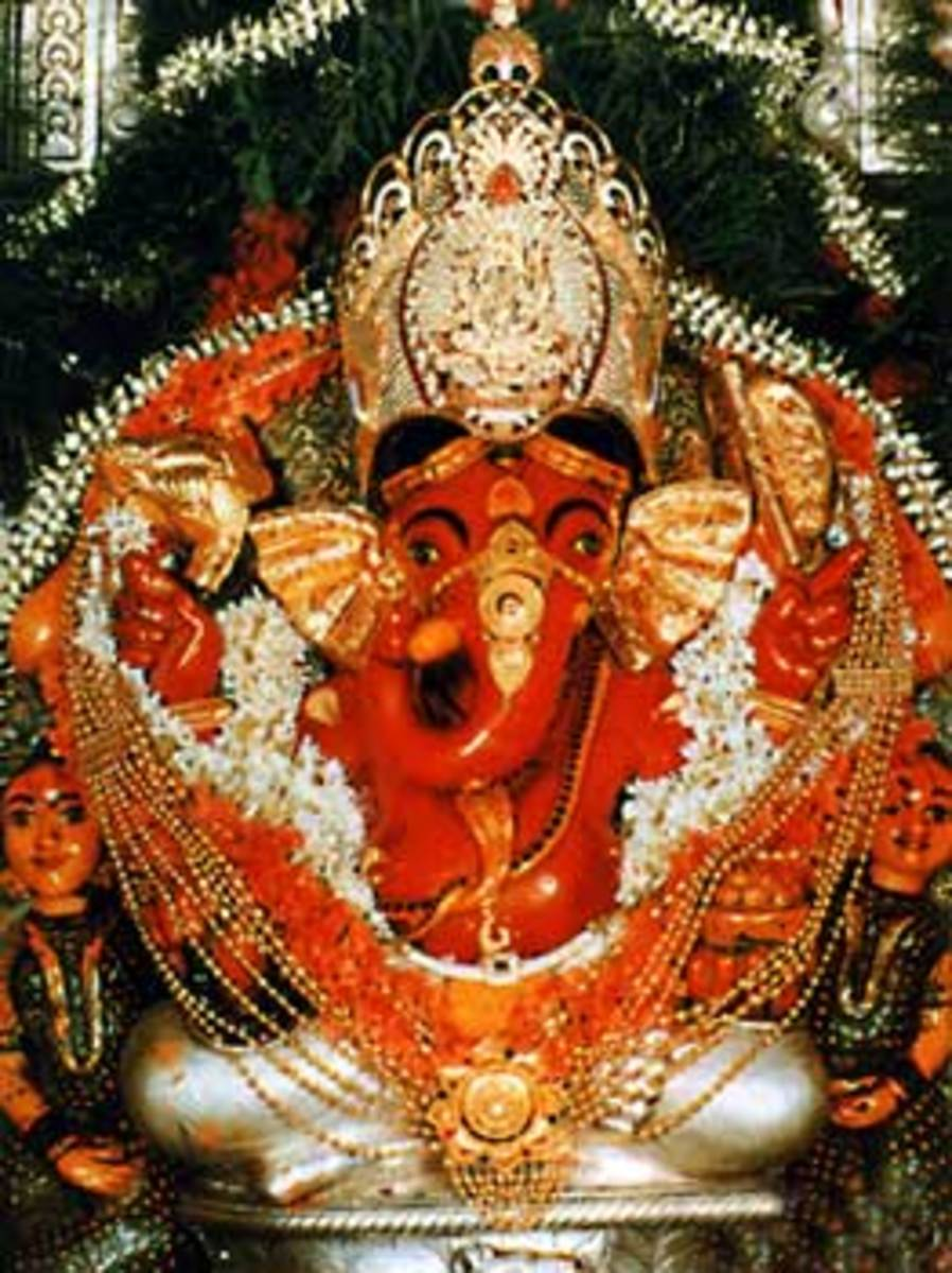 Lord Vinayaka, the Great God of Hinduism