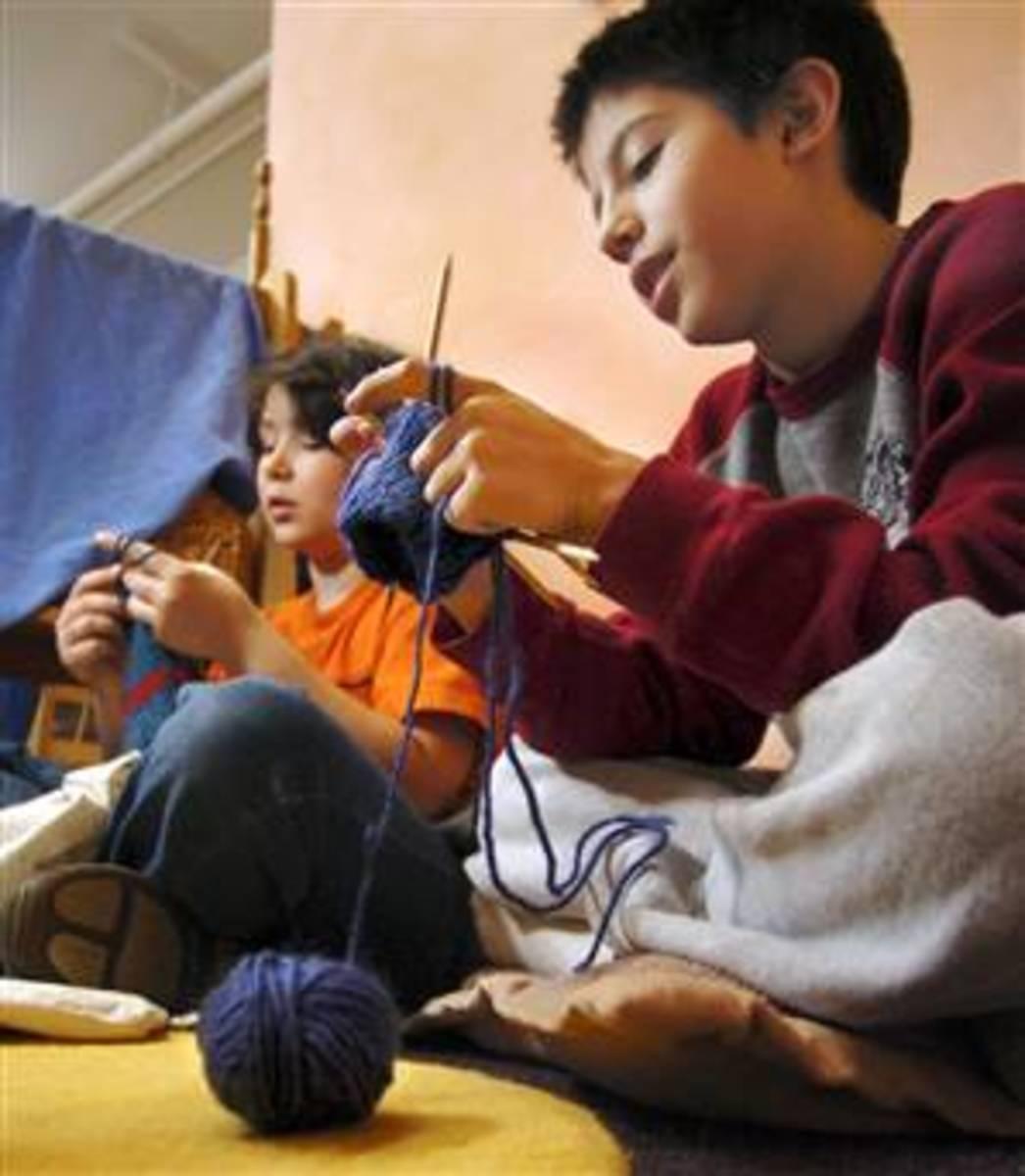 227564 f248 Knitting For Children