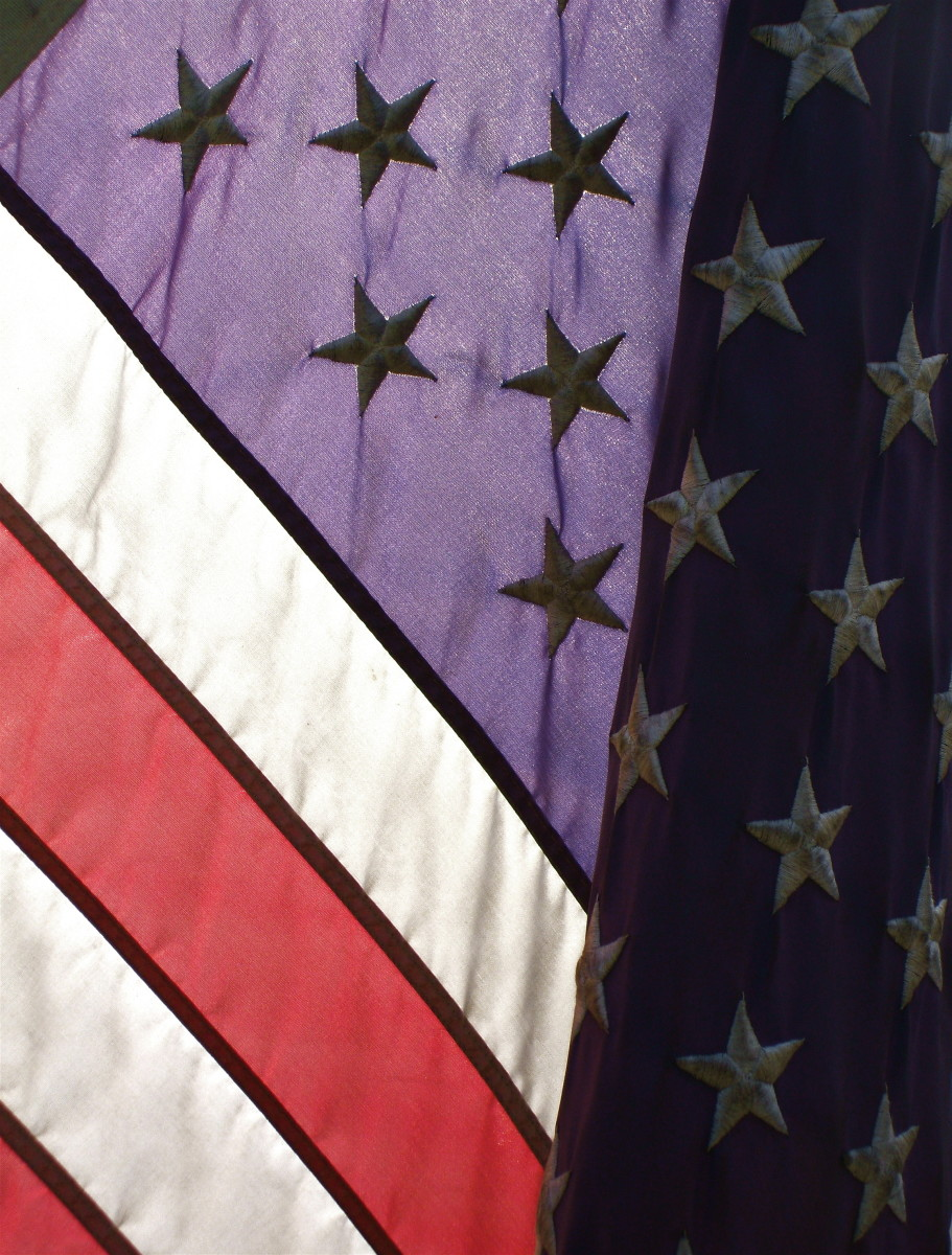 The American flag. (Photo by Andrew Beierle)