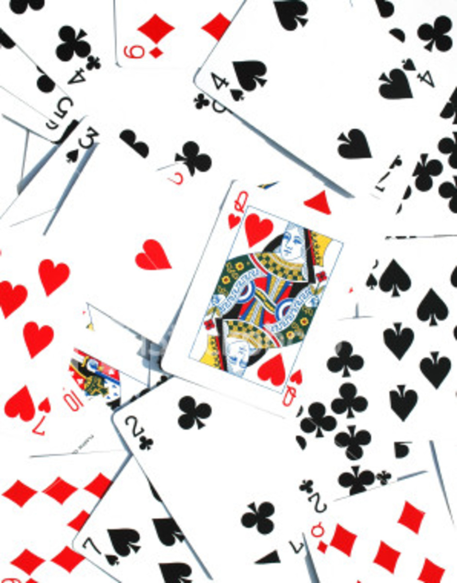 4 handed spades card game