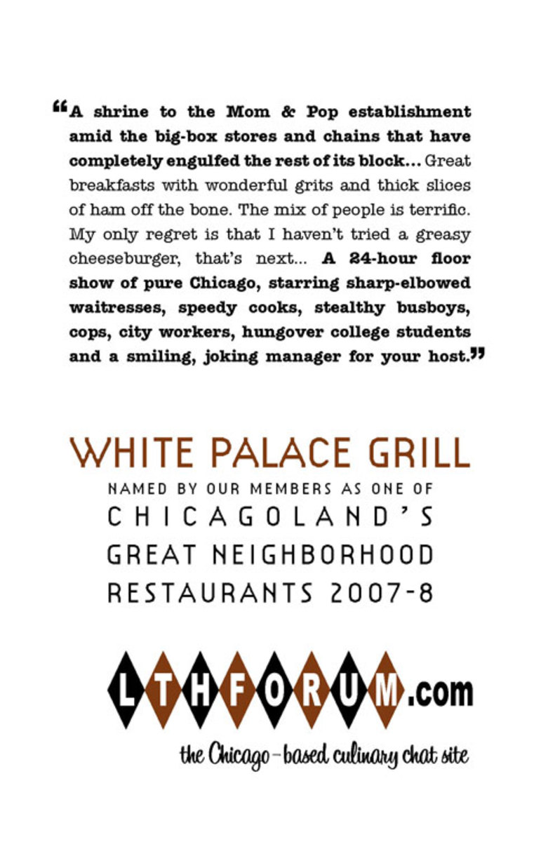 Guy Fieri Reviews Chicago's Famous Diner, The White Palace Grill