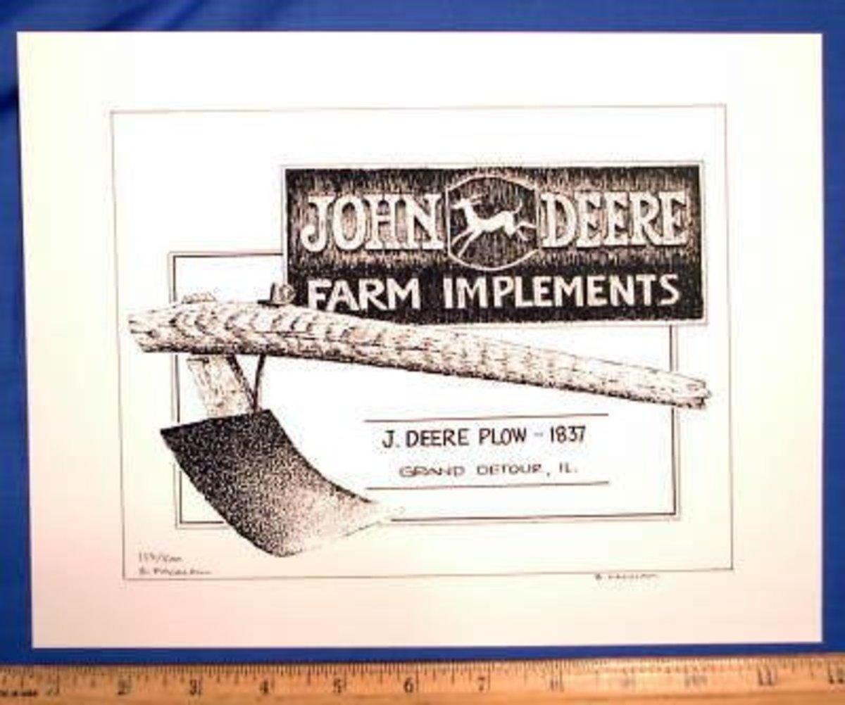 Invented by John Deere
