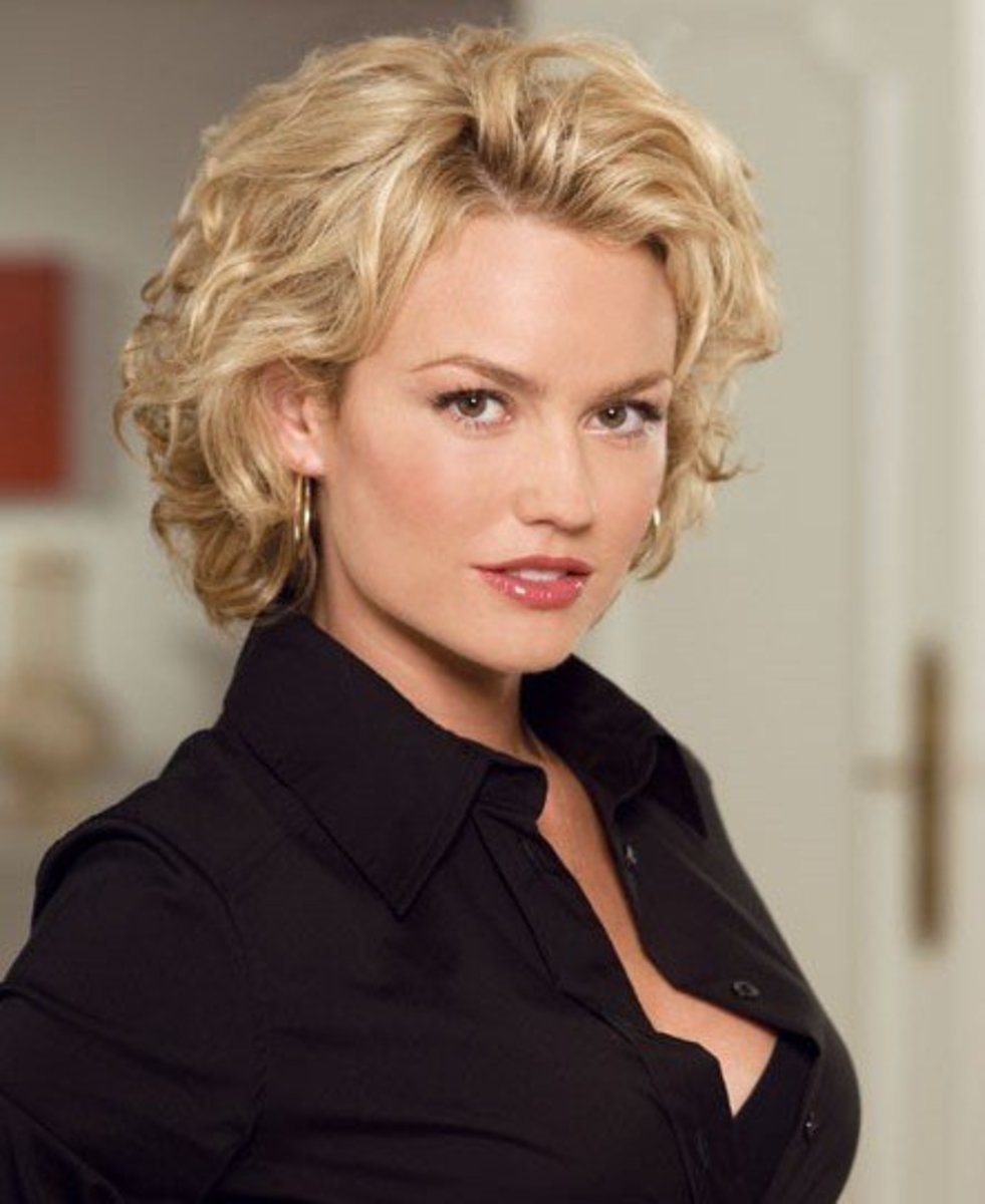Enjoyable Short Curly Hairstyles Pictures For Naturally Curly Hair Short Hairstyles Gunalazisus