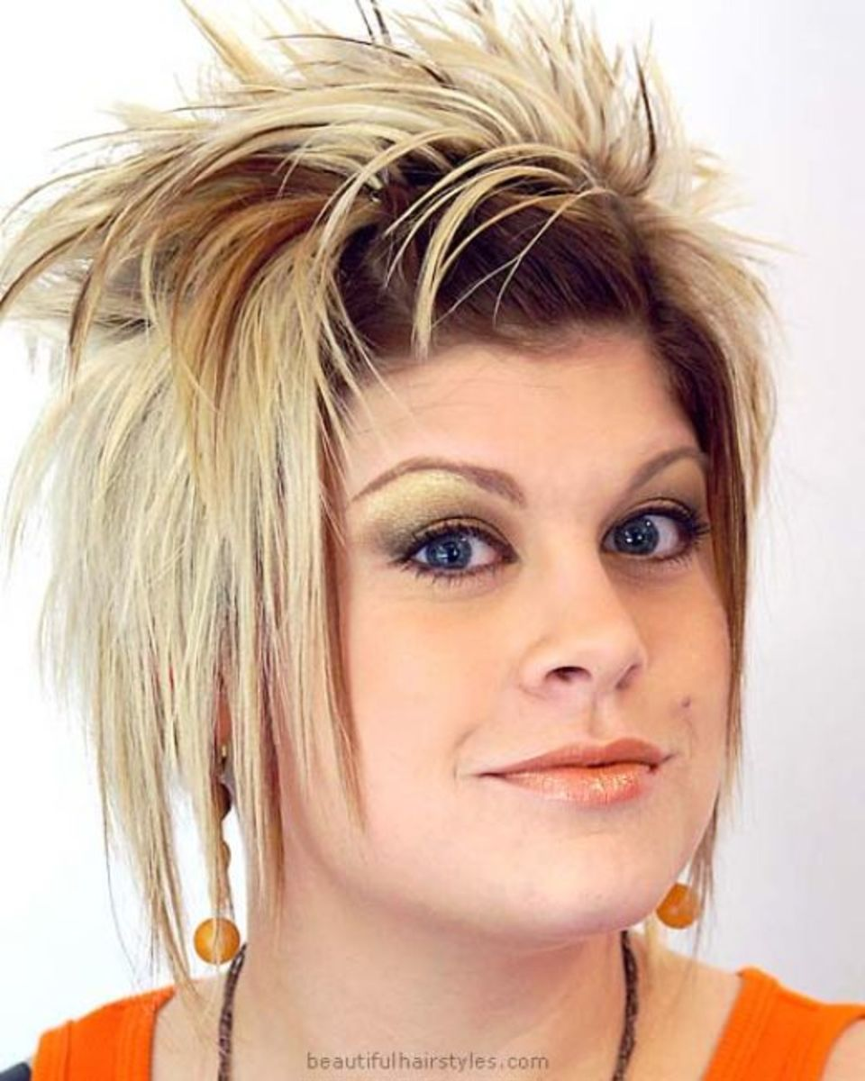 cool 2015 punk short hairstyles for women