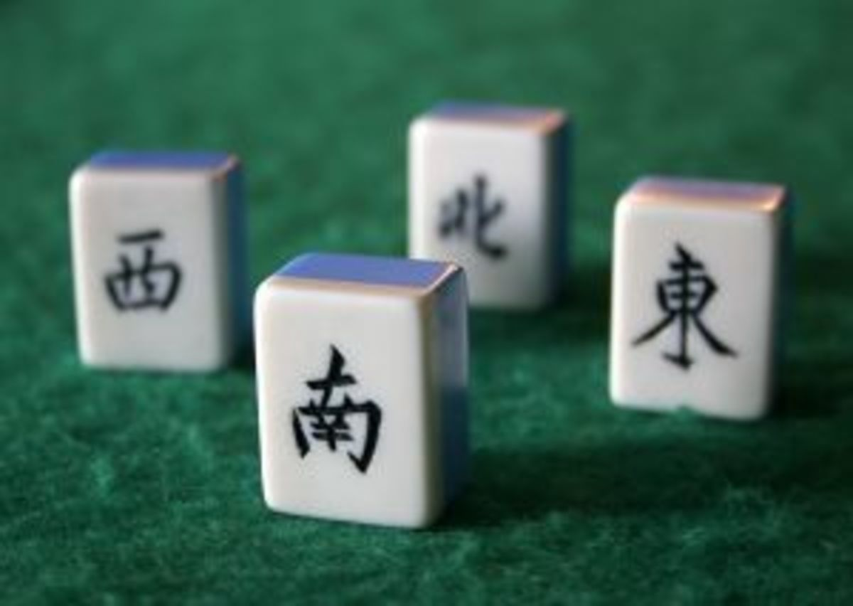 A beginngers guide to learning how to play mahjong.  Please include some pictures and detailed instructions.