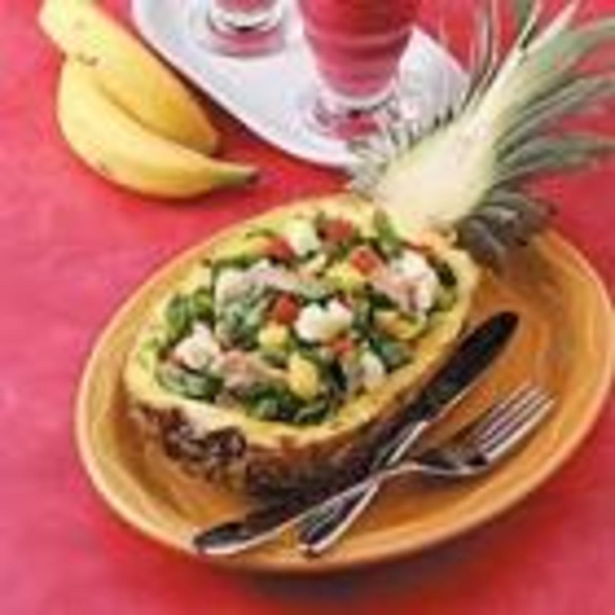 Pineapple Turkey Salad (from Allrecipes)