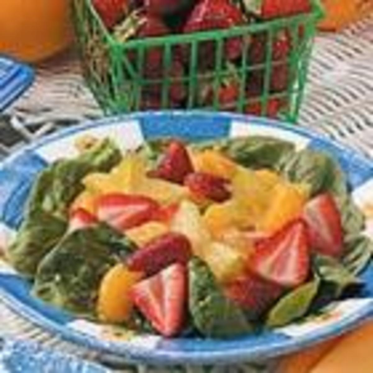 Fruit N Spinach Salad (from Allrecipes)