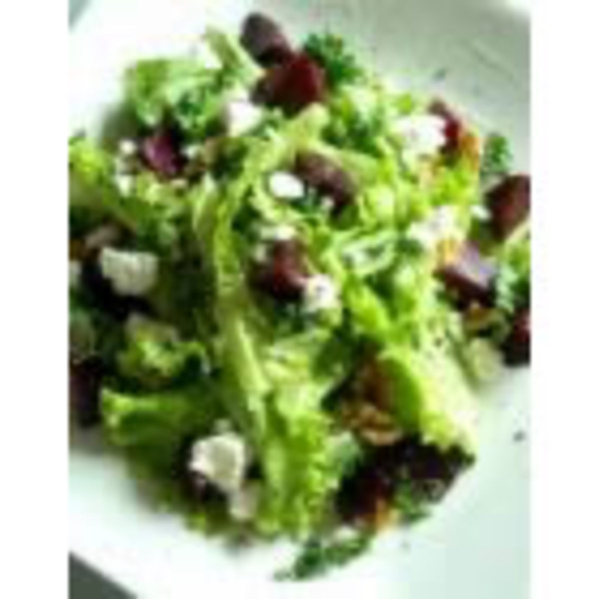 Three Cheese Green Salad (from Allrecipes)
