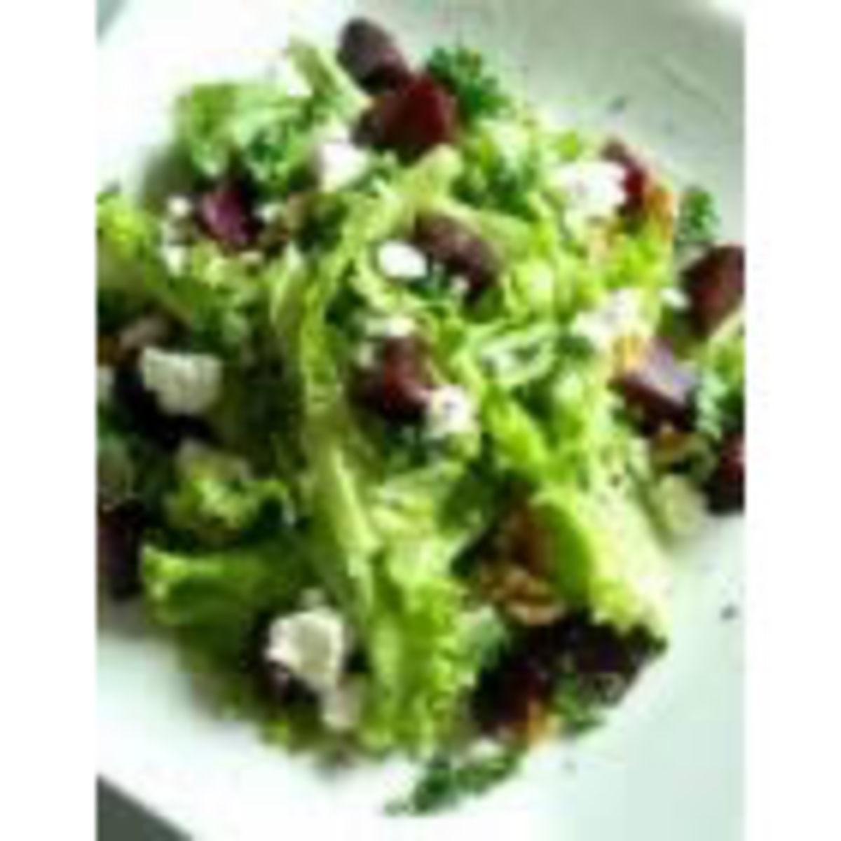 Three Cheese Green Salad (from Allrecipes)
