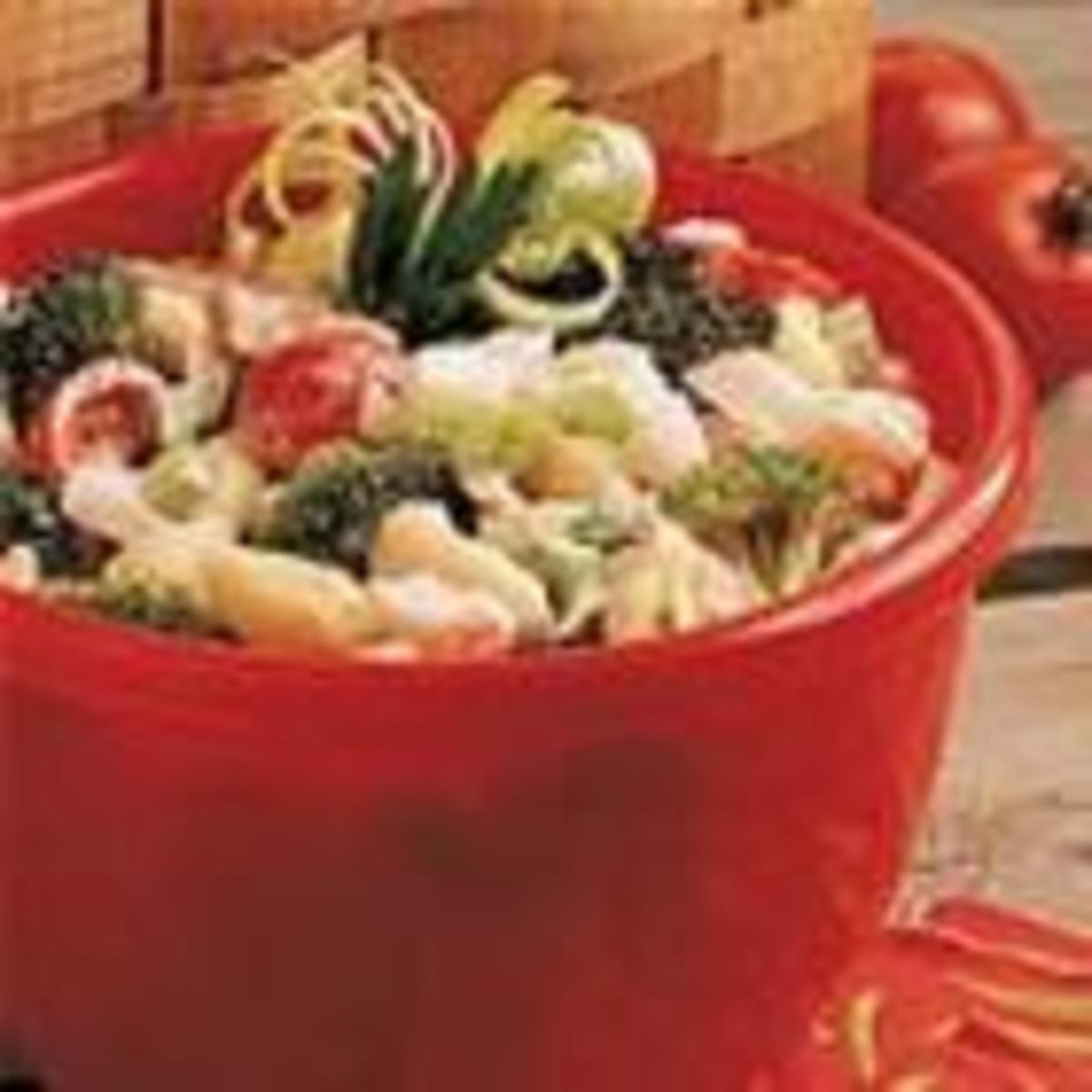 Crab Pasta Salad (from Allrecipes)
