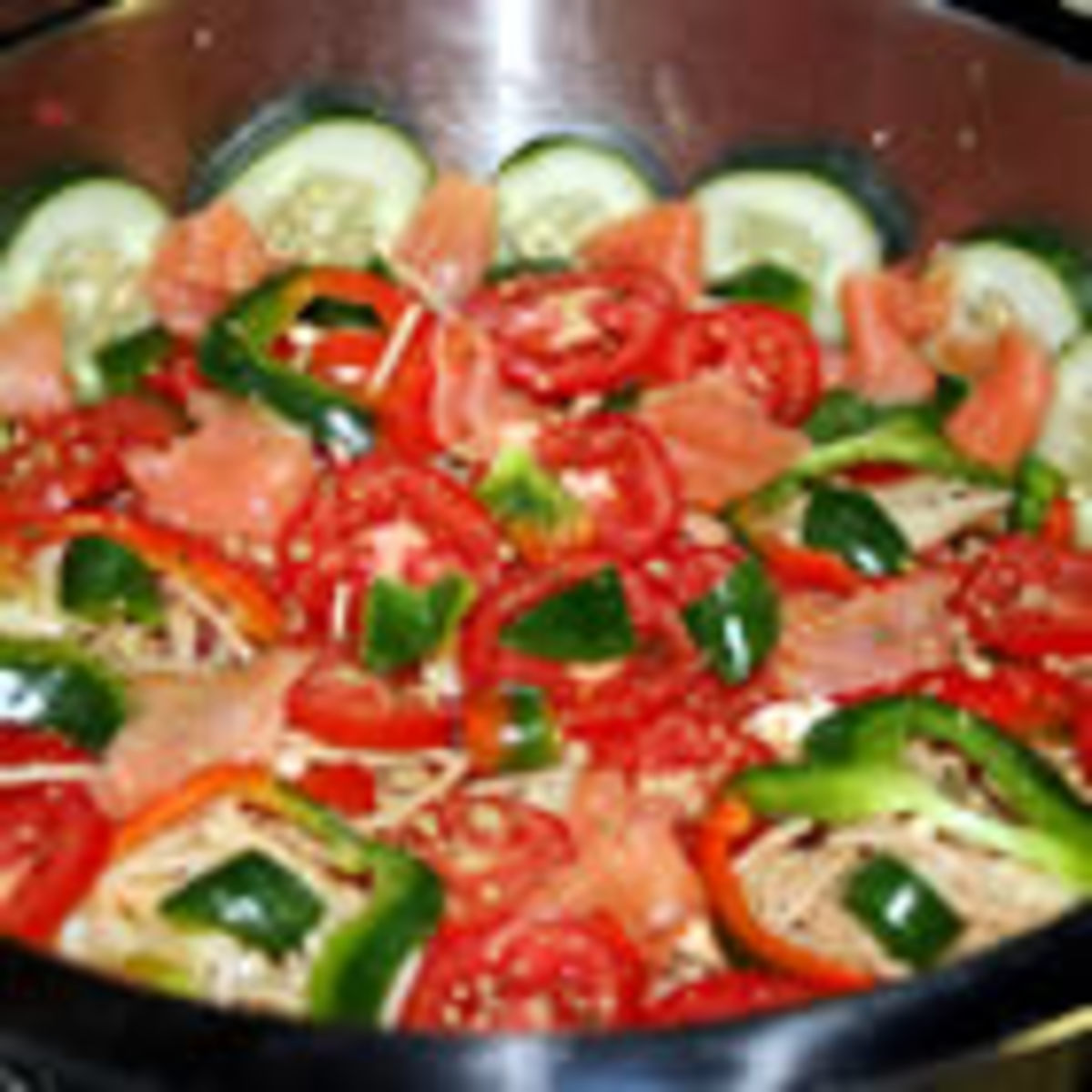 Smoked Salmon Pasta Salad (from Allrecipes)
