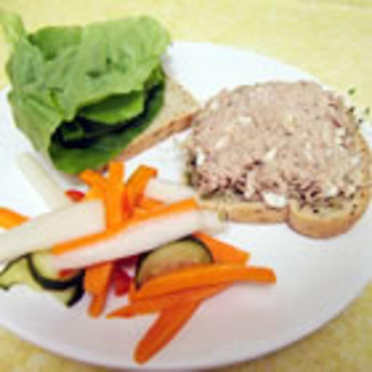 Herbal Tuna Salad (from Allrecipes)