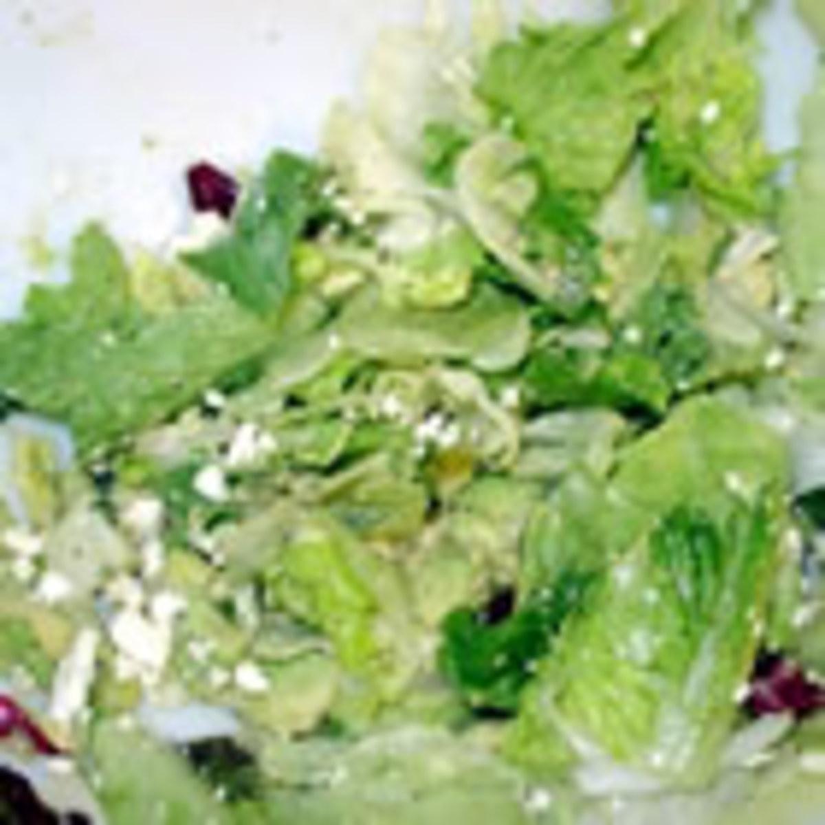 Great Green Salad (from Allrecipes)