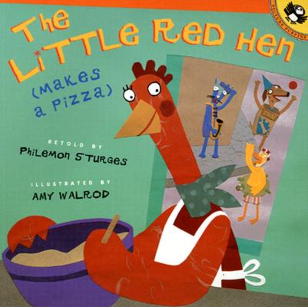 The Little Red Hen Makes a Pizza by Philemon Sturges Children's Book Review