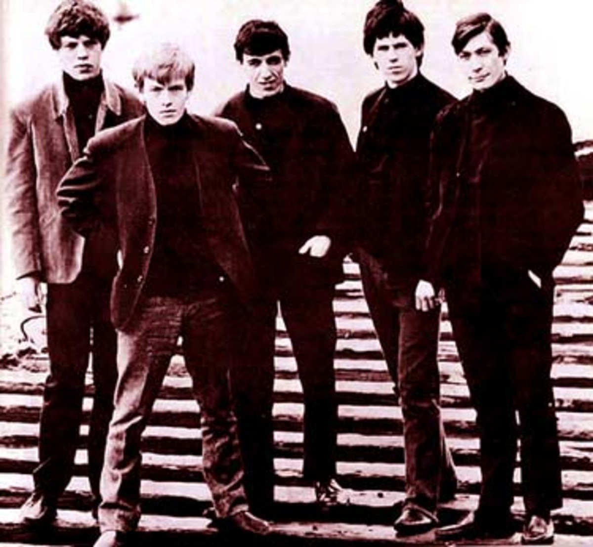 Brian and the Stones in early 1963