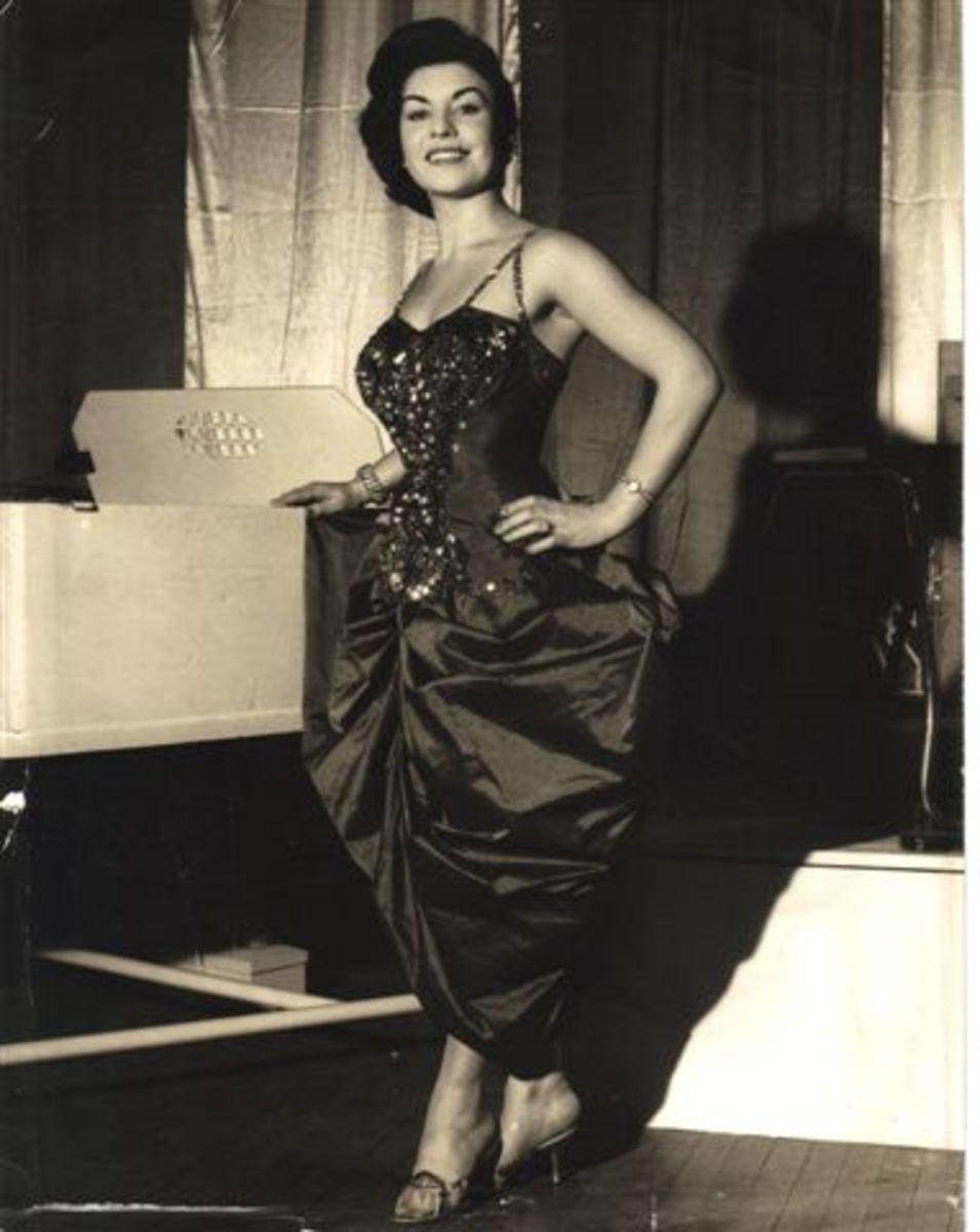 Mary Backstage in The Grande Theatre Bolton