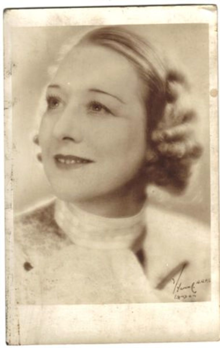 Jennie Bleasdale the Bolton Bel Canto Coloratura Soprano who trained Mary's Voice.