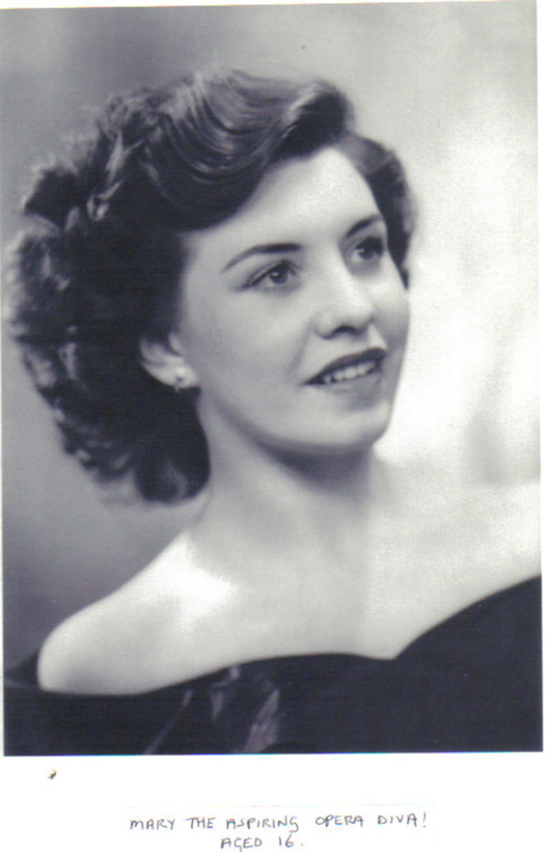 Mary the Aspiring Opera Diva Aged 16