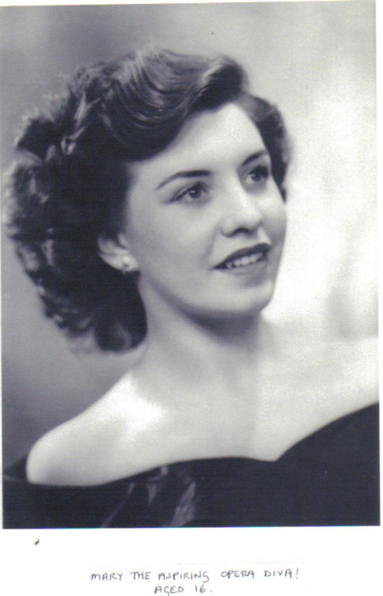 Mary the Aspiring Opera Diva Aged 16