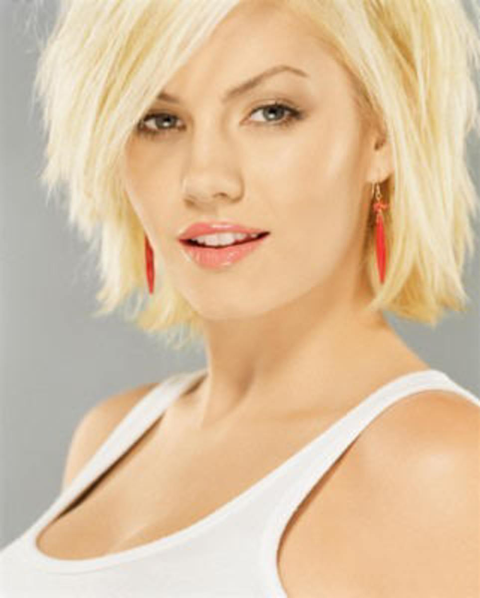 short choppy hair styles pictures for women