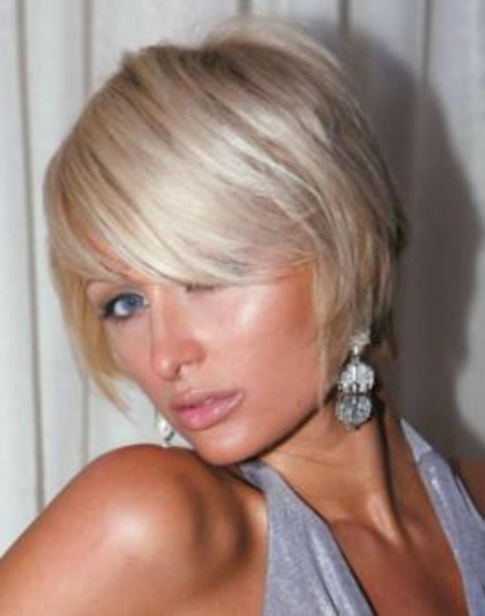 celebrity short choppy hairstyles for layered hair